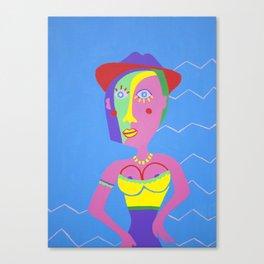 NINA ON HOLIDAY Canvas Print