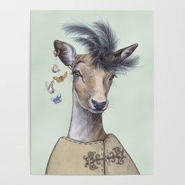 Oh deer, that´s posh! Poster