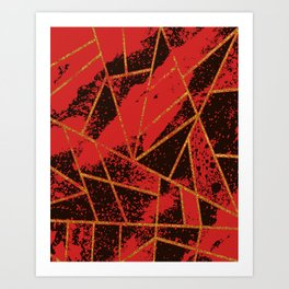 Abstract #942 Art Print