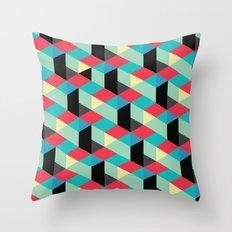 Isometrix 001 Throw Pillow