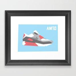 Air Max 90 Framed Art Print