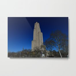Pittsburgh Cathedral of Learning 24 Metal Print