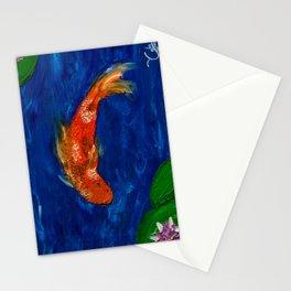 Dappled Koi Stationery Cards