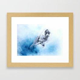 Runner 6 Framed Art Print