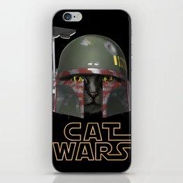 Boba Cat Wars iPhone Skin