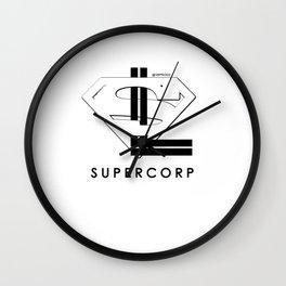 supercorp 3.0 Wall Clock