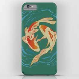 Twin Koi II iPhone Case