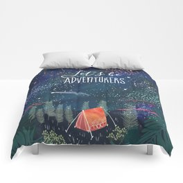 Let´s be adventurers Comforters