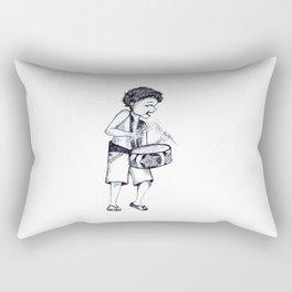 Ra Pa Pum Pum Rectangular Pillow