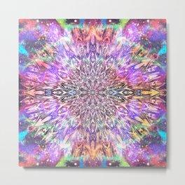 Centaurus Cosmic Mandala Metal Print