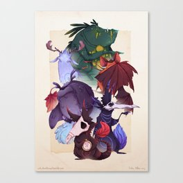 Real Monsters Volume 1 Canvas Print