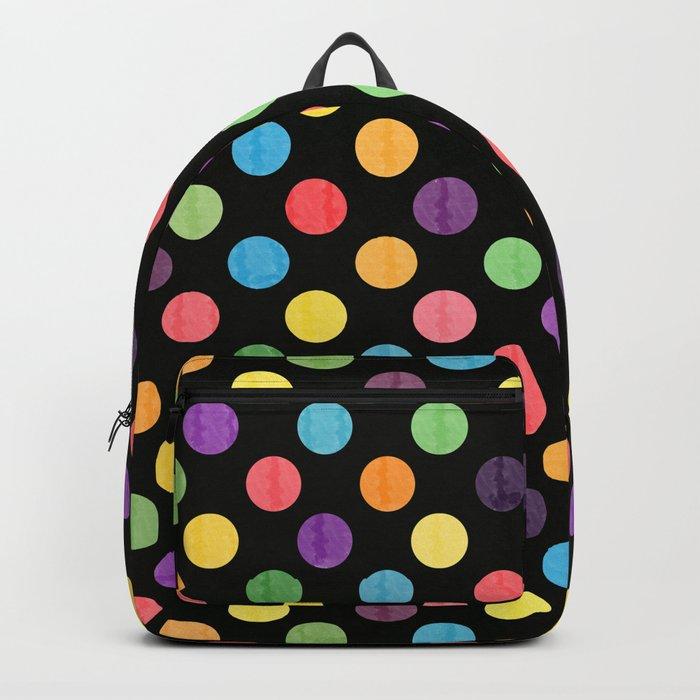 Lovely Dots Pattern Backpack