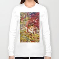superheros Long Sleeve T-shirts featuring BoooM by MelissaMoffatCollage
