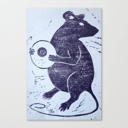 The Rat Canvas Print