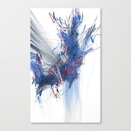 Unwelcome Gaze – Facebook 16 Canvas Print