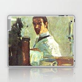 """Henri de Toulouse-Lautrec """"Self-portrait in front of a mirror"""" Laptop & iPad Skin"""