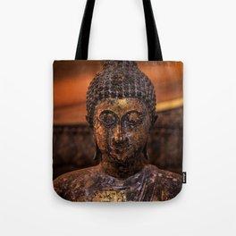 Little Golden Buddha, A fine art piece  Tote Bag