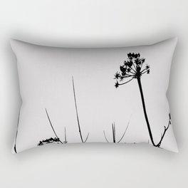 SEA PLANTS B&W Rectangular Pillow