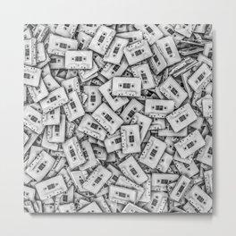 Cassettes Metal Print