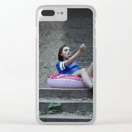 Global Warming is a Hoax Clear iPhone Case