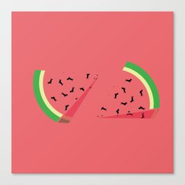 Watermelon Ween Canvas Print