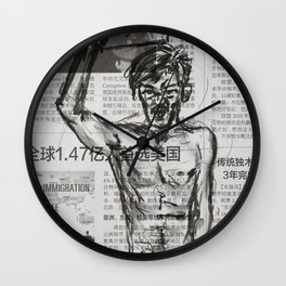 Protest 1 Wall Clock