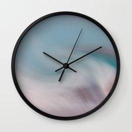 Surreal Waves 1 Wall Clock