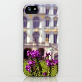 Flowers of castle Nympfenburg iPhone Case