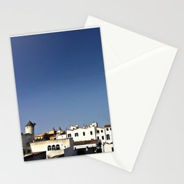 Spanish Island Village Stationery Cards