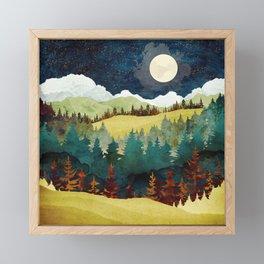 Autumn Moon Framed Mini Art Print