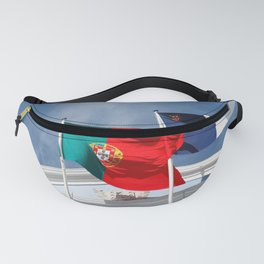 Portugal and Azores flags Fanny Pack