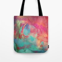aurora Tote Bags featuring AURORA by Adaralbion