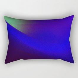 Indigo curve Rectangular Pillow