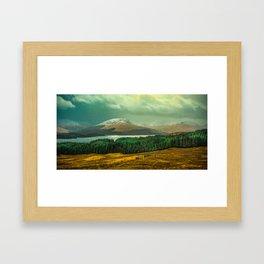 Glen Coe on Rannoch Moor Framed Art Print