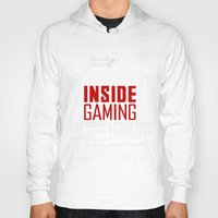 inside gaming Hoodies featuring Inside Gaming Moments by Jin Smoth