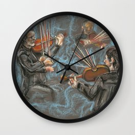 Music is in the Air Wall Clock