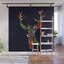 Tropical Deer Wall Mural
