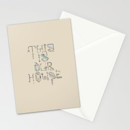 This Is Our House Stationery Cards