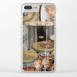 Percussion Instruments Clear iPhone Case