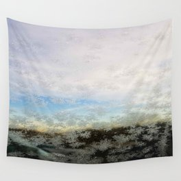 Ice Crystals Wall Tapestry