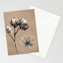 Cotton Blossom 2 Stationery Cards