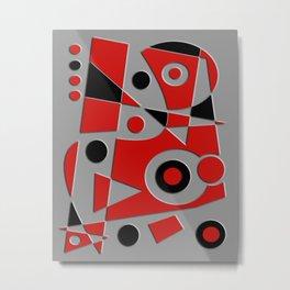 Abstract #978 Metal Print
