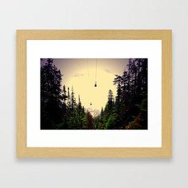 Go west young man Framed Art Print