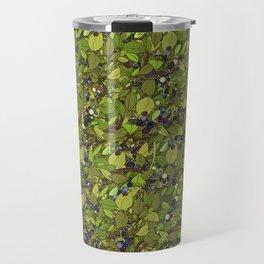 Blueberry Bushes Travel Mug