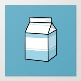 Milk Carton Canvas Print