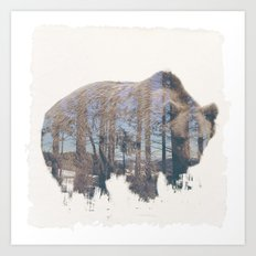 WILD ANIMAL 02 Art Print