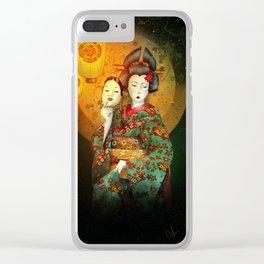 Bunraku Clear iPhone Case