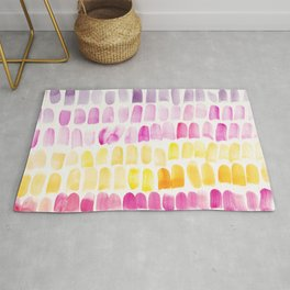 2    | 191128 | Abstract Watercolor Pattern Painting Rug