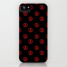 Symbol of anarchy 3 iPhone Case