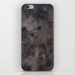The_BLACK_WOOD iPhone Skin